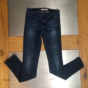 J Brand Veruca Super Skinny 25 Dark Wash